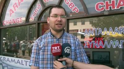 Yabancı öğrencilerden Türk lirasına destek - EDİRNE