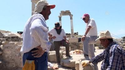 40 yıl emek verdiği Hierapolis'e veda ediyor - DENİZLİ
