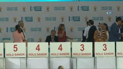 Erdoğan, 1380 oyla yeniden AK Parti Genel Başkanı seçildi