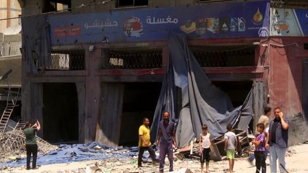 savas ucagi - İsrail füzeleri 25 ailenin geçim kaynağını yok etti - GAZZE Haberi