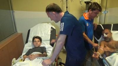 ozel hastaneler -  Kazada yaşanan kabus dolu dakikaları anlattı... '30-40 tane patlama sesi duydum' Haberi