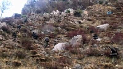 helikopter -  Pervari'de 4 terörist etkisiz hale getirildi Haberi