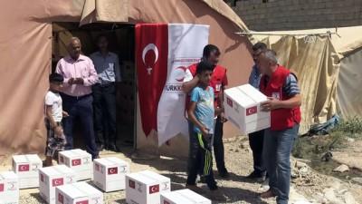 Türk Kızılayından Türkmen çocuklara 'bayramlık yardımı' - KERKÜK
