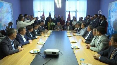 AK Parti Teşkilat Başkanlığı'nda devir teslim töreni - ANKARA