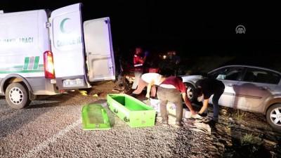 Çankırı'da iki otomobil çarpıştı: 1 ölü, 10 yaralı