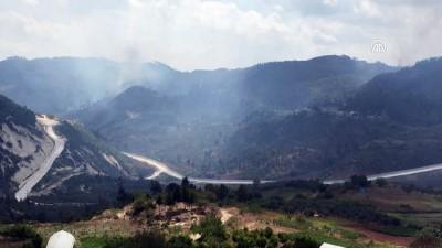 Suriye sınırında orman yangını - HATAY