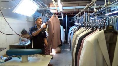 Tekstil kentinden Afrika'ya takım elbise