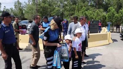 Vali Şıldak trafik denetimine katıldı - BURDUR