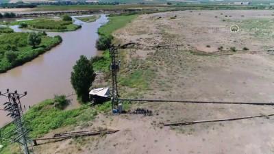 Dicle EDAŞ'tan kaçak elektrik kullanımına karşı drone ile mücadele - DİYARBAKIR