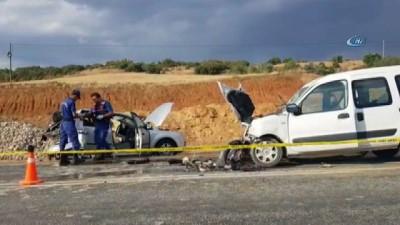 Isparta Konya Beyşehir yolunda kaza: 1 ölü, 1 yaralı