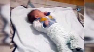 Şehit bebekten geriye bu görüntüler kaldı
