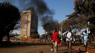 muhalifler - Zimbabve ordusu protestoculara karşı gerçek mermi kullandı