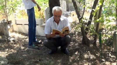 - Elazığ'da arefe günü mezarlıklar doldu taştı