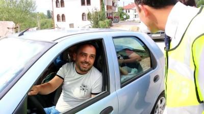 Göynük'te trafik denetimleri - BOLU