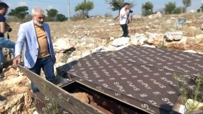 anit mezar -  2600 yıllık tarih açık hava müzesi oluyor...Arkeolojik kazılar havadan görüntülendi