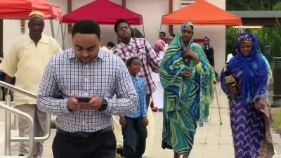 ABD'de binlerce Müslüman bayram namazında bir araya geldi - WASHINGTON