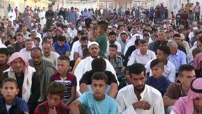 Suriyeli sığınmacılar bayram namazında (2) - ŞANLIURFA