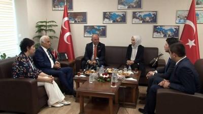 din adami -  AK Parti'den MHP'ye bayram ziyareti
