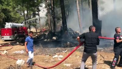 Akseki'de orman yangını (2) - ANTALYA