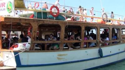 Ayvalık'ta adalara tekne turlarına yoğun ilgi - BALIKESİR