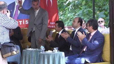 cumhurbaskanligi - Büyükataman: 'Yerel seçimler zamanında yapılmalıdır' - BURSA