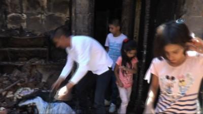 İki aylık kirasını ödeyemedi, ev sahibinin evini yaktığını iddia etti