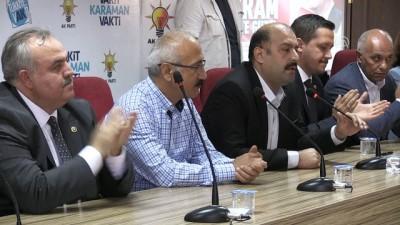 Lütfi Elvan: 'En fazla yardım yapan ülke konumuna geldik' - KARAMAN