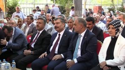 Sağlık Bakanı Koca: 'Dışa bağımlılığımızı azaltacak projelerimizi hayata geçirmekte kararlıyız' - ELAZIĞ