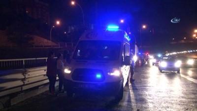 TEM'de 9 araç birbirine girdi: 6 yaralı