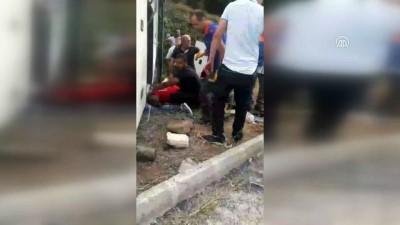 Tur otobüsünün altında kalan kadın yolcu öldü - GÜMÜŞHANE