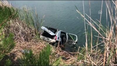 Otomobil sulama göletine yuvarlandı: 4 ölü (2) - UŞAK