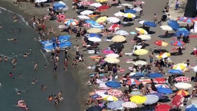 mel b - Sahillerde bayram tatili yoğunluğu - ZONGULDAK