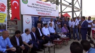 Yılmaz: 'Birtakım ülkeler Türkiye'nin ilerlemesini engellemeye çalışıyor' - BİNGÖL