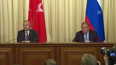 Çavuşoğlu: 'Burada önemli olan Rusya'nın endişelerinin ortadan kaldırılması'- MOSKOVA