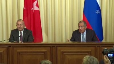 Çavuşoğlu: 'İdlib'de askeri bir çözüm felaket olur'- MOSKOVA
