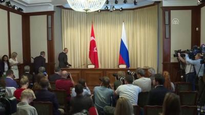 Çavuşoğlu - Lavrov ortak basın toplantısı (1) - MOSKOVA