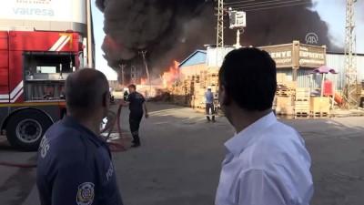 Mobilya dekorasyon fabrikasında yangın (2) - KONYA
