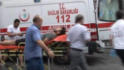 Taksim'de silahlı sesleri