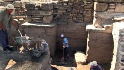 arkeolojik kazi - 'Tapınaklar Kenti'nde' Selene ve Helios kabartması bulundu - AYDIN