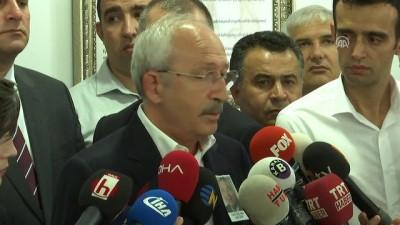 Kılıçdaroğlu, gazeteci Baki Özilhan'ın cenaze törenine katıldı - ANKARA