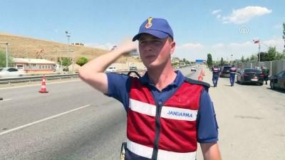 Orgeneral Çetin dönüş yolundaki tatilcileri uyardı (2) - ANKARA