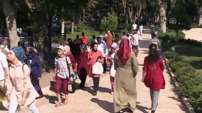 su kanali - Şanlıurfa ile Malatya'da sıcak hava bunalttı (2)