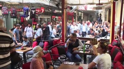 Taksim'de izinsiz gösteriye polis müdahalesi (3) - İSTANBUL