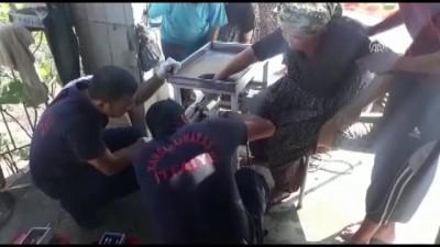 Elini kıyma makinesine kaptıran kadını itfaiye kurtardı - KAHRAMANMARAŞ