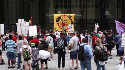 Savaş karşıtı protesto - CHICAGO