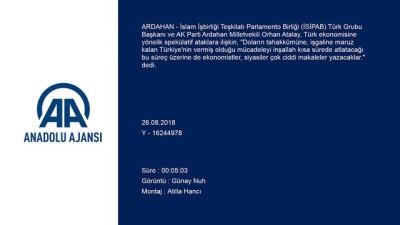 'Türkiye'nin direnişi mazlum coğrafyaya ilham kaynağı olacak' - ARDAHAN