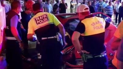 Uşak'ta trafik kazası: 1 ölü 2 ağır yaralı