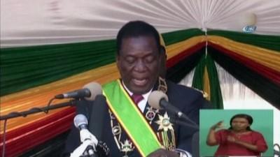 - Zimbabve'nin Yeni Devlet Başkanı Mnangagwa Yemin Etti