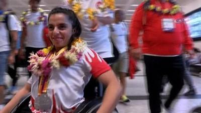 - Avrupa rekoru kırarak şampiyon olan engelli sporcular yurda döndü