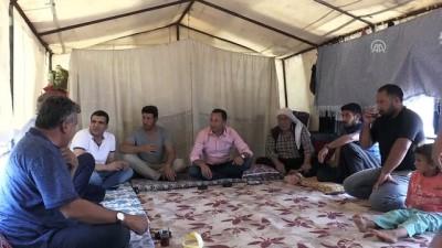 tarim iscisi - Mevsimlik tarım işçileri Konya Ovası'nda mesaide - KONYA